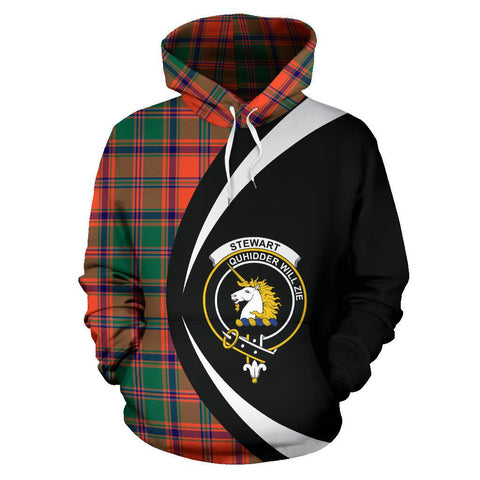 Stewart of Appin Ancient Tartan Circle Hoodie