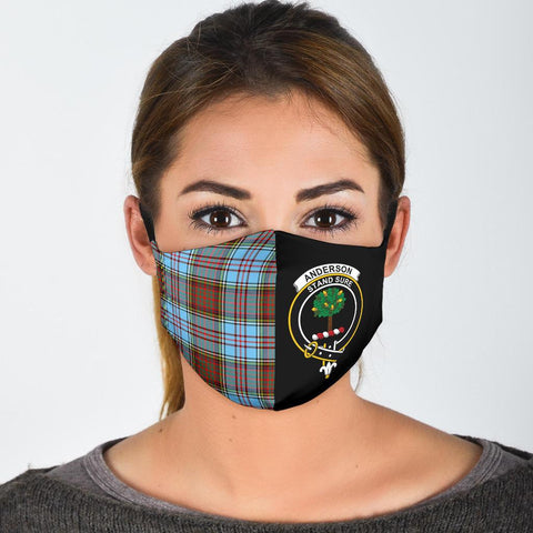 Anderson Ancient  Tartan Mouth Mask The Half