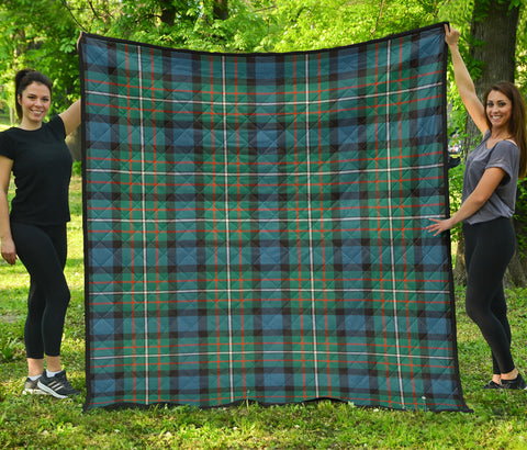 Image of FERGUSON ANCIENT Tartan Premium Quilt | Scottishclans.co