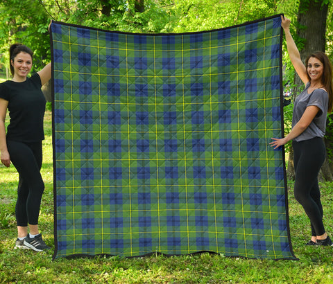 Johnston Ancient Tartan Premium Quilt | Scottishclans.co