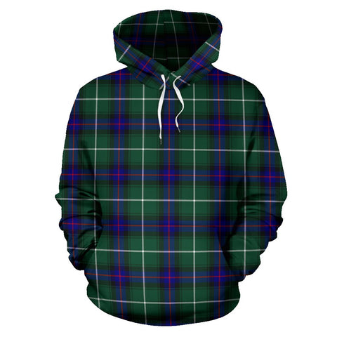 Macdonald Of The Isles Hunting Modern Tartan Hoodie HJ4