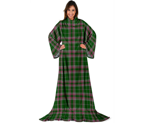 Image of Gray Hunting Tartan Clans Sleeve Blanket | scottishclans.co