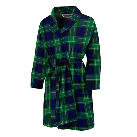 Abercrombie Tartan Mens Bathrobe