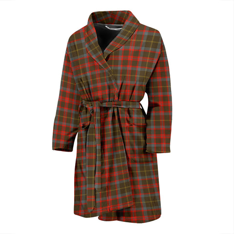 MacKintosh Hunting Weathered Tartan Mens Bathrobe
