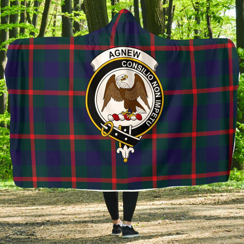 Image of Agnew Clans Tartan Hooded Blanket