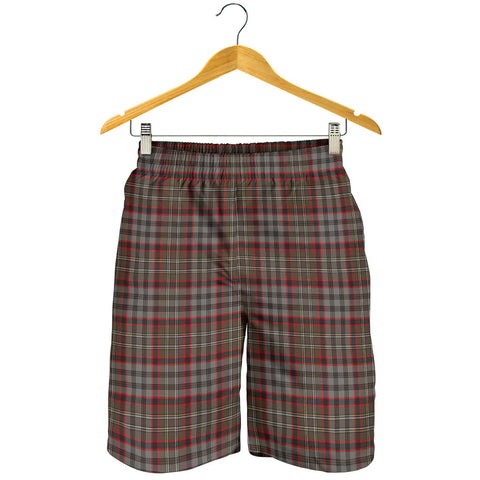 Nicolson Hunting Weathered Tartan Shorts For Men