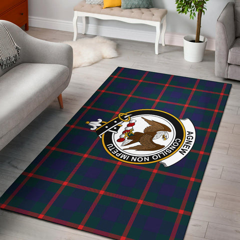 Image of Agnew Clan Tartan Area Rug