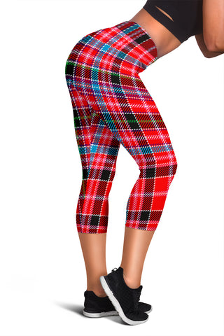 Aberdeen District Tartan Capris Leggings | Scottishclans.co