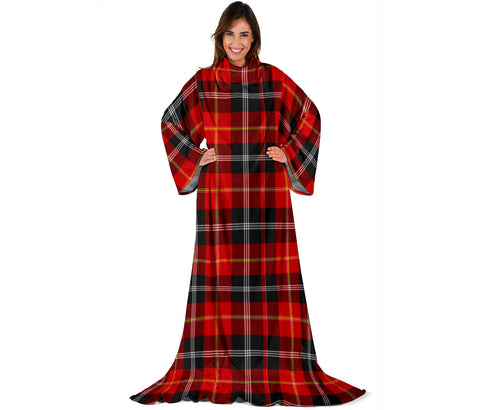Image of Marjoribanks Tartan Clans Sleeve Blanket | scottishclans.co