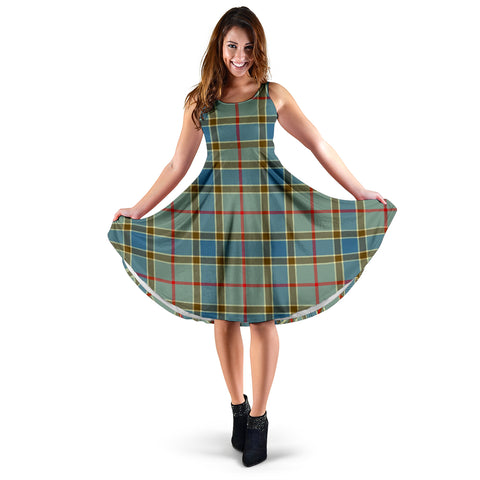 Balfour Blue Tartan Women's Dress