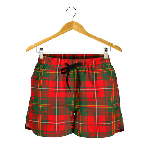 Hay Modern Tartan Shorts For Women