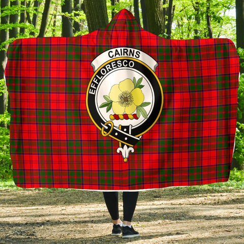 Cairns Clans Tartan Hooded Blanket