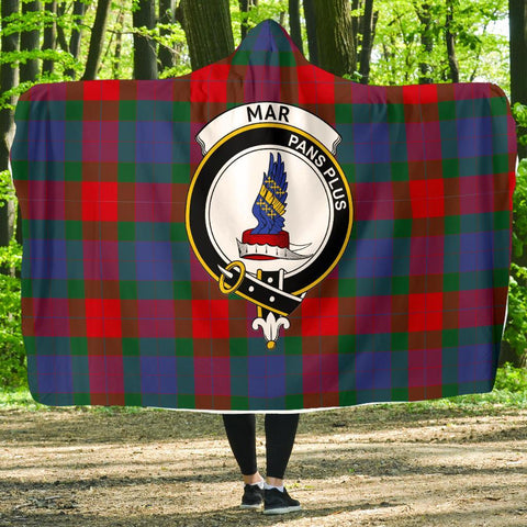 Mar Clans Tartan Hooded Blanket