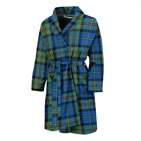 MacLeod Of Harris Ancient Tartan Mens Bathrobe