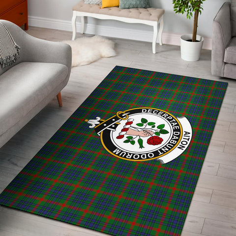 Image of Aiton Clan Tartan Area Rug