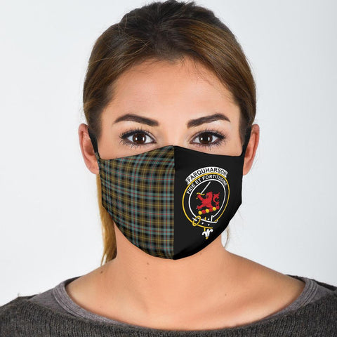 Farquharson Weathered  Tartan Mouth Mask The Half