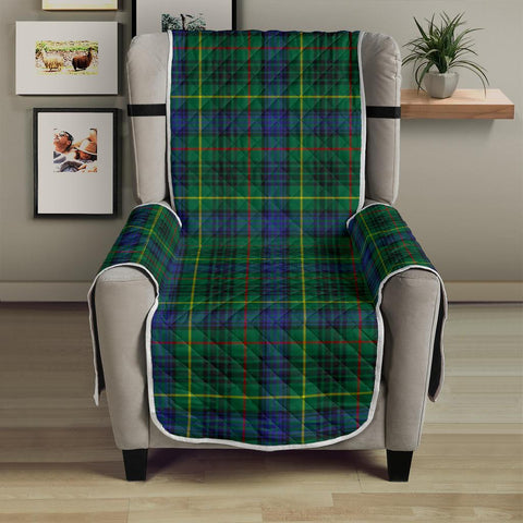Image of Stewart Hunting Modern  Tartan Chair Sofa Protector K7