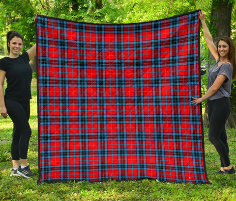 Image of MacTavish Modern Tartan Premium Quilt | Scottishclans.co
