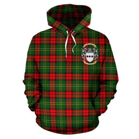 Blackstock Tartan Clan Badge Hoodie HJ4