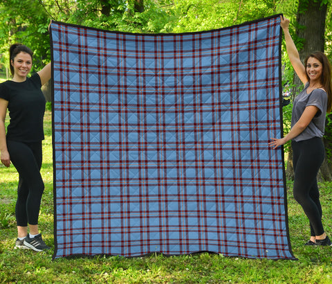 Elliot Ancient Tartan Premium Quilt | Scottishclans.co