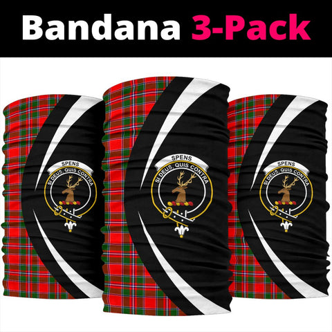 Image of Spens Modern Tartan Bandana Circle