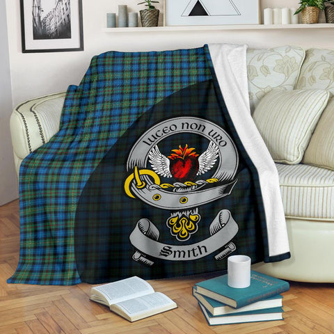 Image of Smith Ancient Tartan Premium Blanket Wave Style