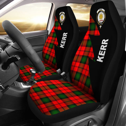 Image of Kerr Clans Tartan Car Seat Covers - Flash Style
