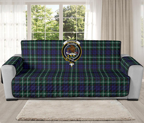 Graham of Montrose Modern Tartan Clan Badge Oversized Sofa Protector