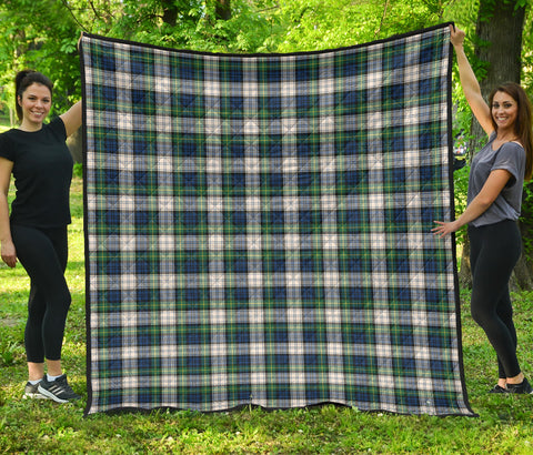 Gordon Dress Ancient Tartan Premium Quilt | Scottishclans.co