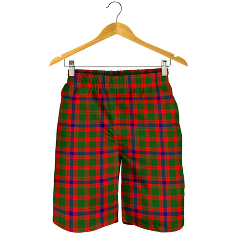 Skene Modern Tartan Shorts For Men
