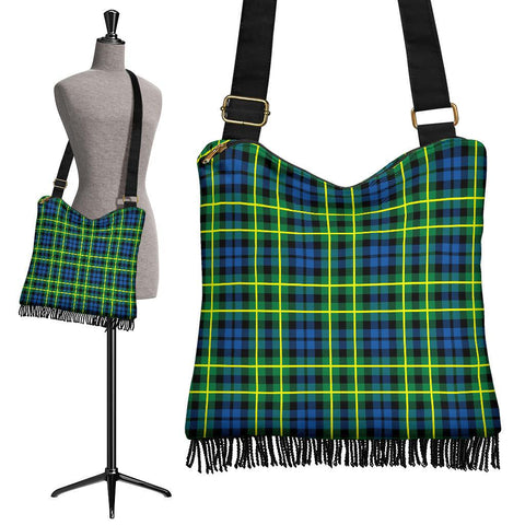 Campbell of Breadalbane Ancient Tartan Boho Handbag | scottishclans.co