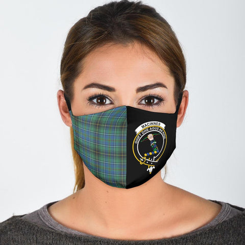MacInnes Ancient  Tartan Mouth Mask The Half