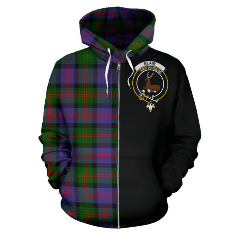 Image of Blair Modern Tartan Hoodie Half Of Me