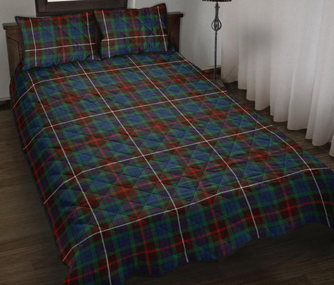 Fraser Hunting Ancient Tartan Quilt Bed Set