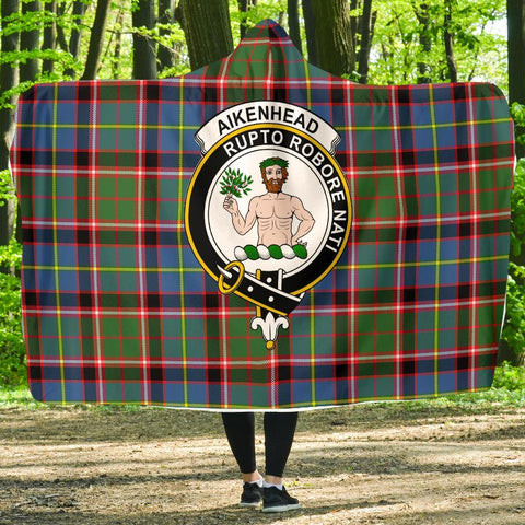 Image of Aikenhead Clans Tartan Hooded Blanket