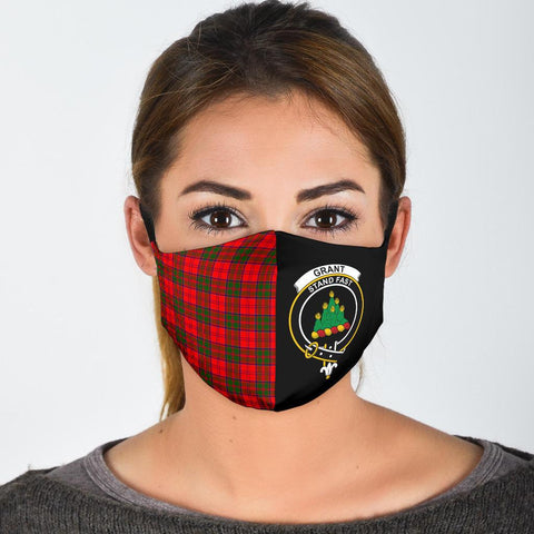 Grant Modern  Tartan Mouth Mask The Half