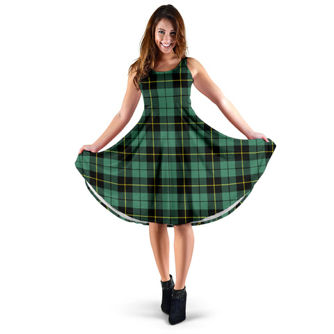 Image of Wallace Hunting Ancient Tartan Women's Dress