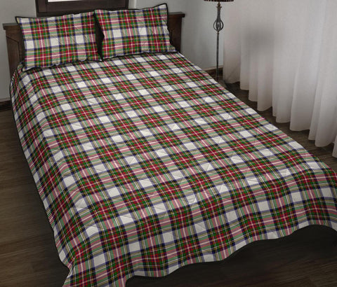 Stewart Dress Modern Tartan Quilt Bed Set