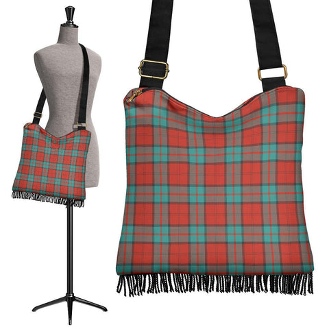 Dunbar Ancient Tartan Boho Handbag | scottishclans.co
