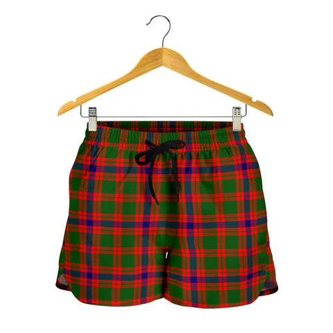 Skene Modern Tartan Shorts For Women
