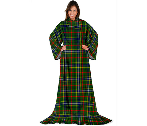 Bisset Tartan Clans Sleeve Blanket | scottishclans.co