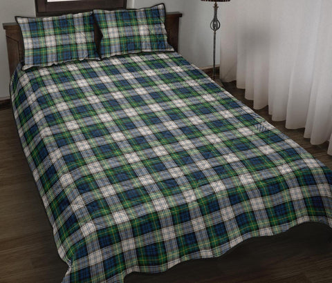 Gordon Dress Ancient Tartan Quilt Bed Set