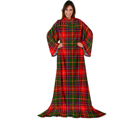 Somerville Modern Tartan Clans Sleeve Blanket | scottishclans.co
