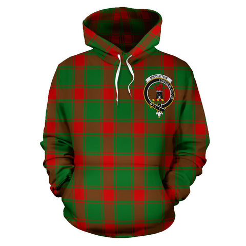 Middleton Tartan Clan Badge Hoodie HJ4