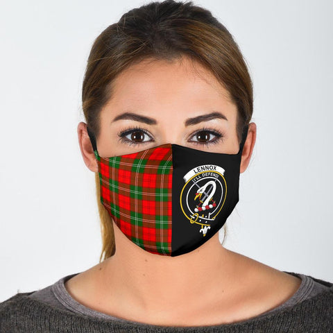 Lennox Modern  Tartan Mouth Mask The Half