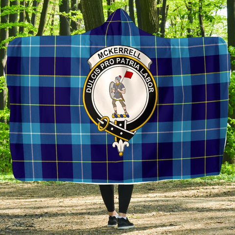 Image of McKerrell Clans Tartan Hooded Blanket