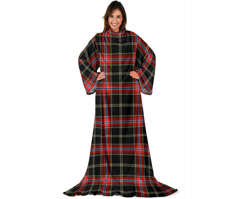 Norwegian Night Tartan Clans Sleeve Blanket | scottishclans.co