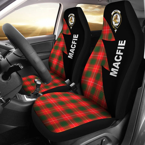 MacFie Clans Tartan Car Seat Covers - Flash Style