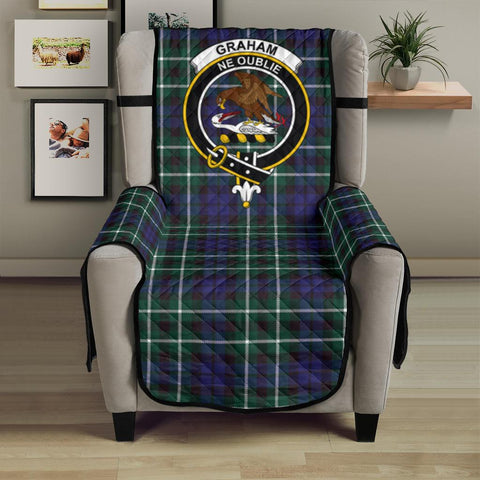 Graham of Montrose Modern Tartan Clan Badge Sofa Protector