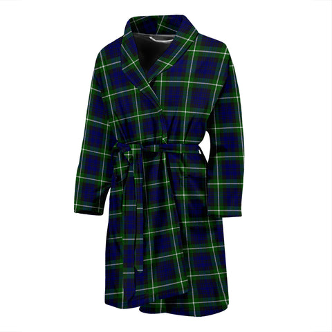 Image of Lamont Modern Tartan Mens Bathrobe